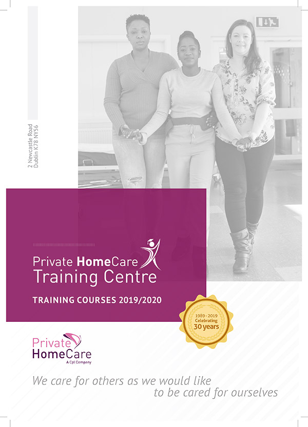 Private HomeCare training Brochure